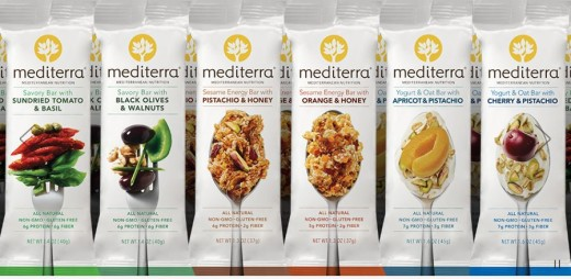 Two new savory flavors add to the choices for Mediterra