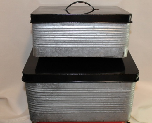 Fabgrandpa's metal storage cans