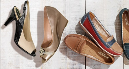 Naturalizer Shoes: Save 25% sitewide thru 5/29/15