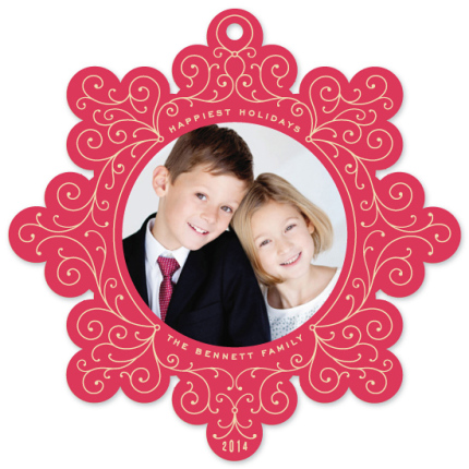 Ornament Cards from Minted.com