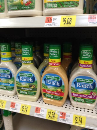 Hidden Valley Ranch Dressing new flavors!