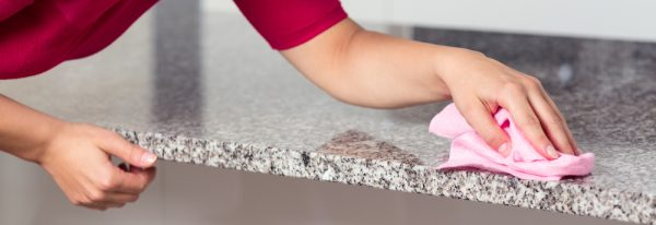 how to properly clean granite countertops