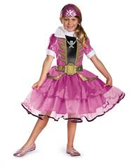 Girls Pink Power Rangers TuTu Dress Costume