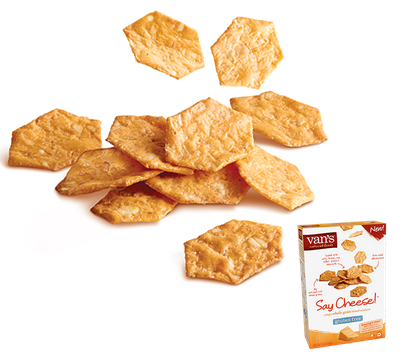 Say Cheese Gluten Free Cheese Crackers