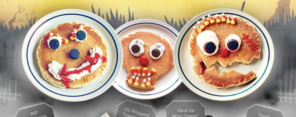 scary face pancakes ihop