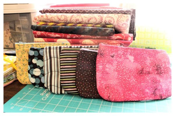 little zipper pouches