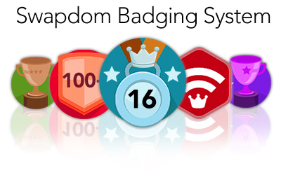 swapdom-badging-system