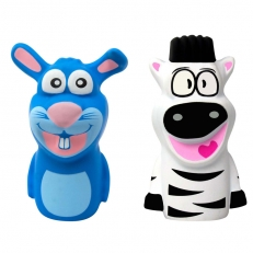 Digipuppets: Honey the Bunny and Zip the Zebra