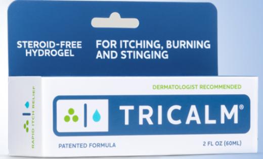 tricalm anti itch