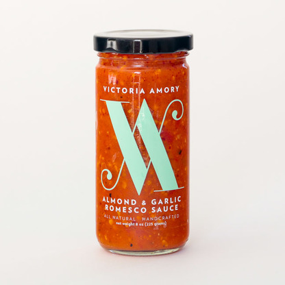 Almond & Garlic Romesco sauce