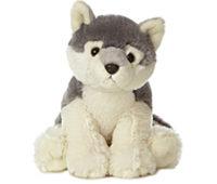 plush wolf