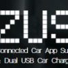 ZUS CellPhone Charger For Your Car